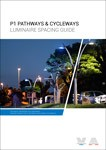 Spacing Guide - P1 Pathways and Cycleways